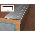 Profil schodový ukončovací samolepící 2,5x0,9x90 cm stříbro ELOX BOHEMIA (586745) - 1