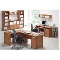 Rohový obloukový stůl, třešeň, OSCAR T05 (348935) - 5