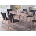 Jídelní stůl 150x90 cm ve vymyté bílé barvě KN979 (695017) - 1