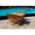 Židle skládací s polstrem BRISBANE (355653) - 3
