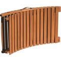 Lehátko dřevěné skládací LA MANCHE (396157) - 2