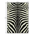 Koberec, vzor zebra, 200x250, ARWEN (533640) - 4