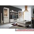Komoda třídveřová v luxusní bílé barvě ve vysokém lesku TK026 TYP 40 (348747) - 3