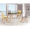 Jídelní stůl 150x90 cm s tvrzeným sklem TK2150 (530796) - 2