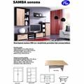 Obývací stěna F013 sonoma (352842) - 2