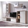 Obývací stěna v kombinaci dub san remo a krémová F1050 (398337) - 1