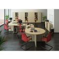 Stůl rohový obloukový, dub sonoma, TEMPO AS NEW 024 (359972) - 2