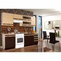 Kuchyňská linka F085 dub/wenge 240 cm (352840) - 1