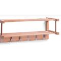 Věšák na šaty nástěnný bambusový E225 (358546) - 1