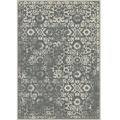 Koberec vintage tmavě šedý 67x105 MORIA (533437) - 1