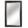 Zrcadlo s dřevěným rámem v černé barvě TYP 1 TK2200 (533890) - 2