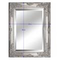 Zrcadlo s ozdobným a dřevěným rámem TYP 6 TK2200 (533895) - 2