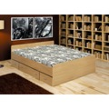 Postel se zásuvkami, buk, 160x200, DUET 80262 (348954) - 1