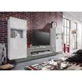Air - Obývací stěna,2x osvětlení (bílá mat/bílá lesk) (686647) - 1