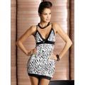 Košilka Obsessive Zebra chemise (4609) - 1