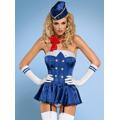 Sexy kostým Stewardess corset - Obsessive (5342) - 1