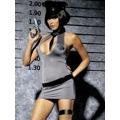Sexy kostým Police dress - Obsessive (4478) - 1