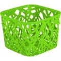Plastový košík NEO SQUARE - zelený CURVER (873110) - 1
