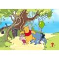 AG Art Dětská fototapeta XXL Medvídek Pú a jeho přátelé 360 x 270 cm, 4 díly (884905) - 1