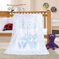 Bellatex Dětská deka Nela Sova modrá, 100 x 140 cm (889507) - 1