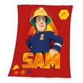 Herding Dětská deka Požárník Sam, 130 x 160 cm (886735) - 1