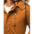 Pánská zimní bunda s kapucí Z-6682 / 6681 (tx1990) - ROSSO (802329) - 9