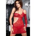 Erotická košilka Tessoro 242 Carmine Lady (452126) - 1