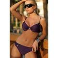 Dámské plavky Andrea fialové horní díl (43722) - 1