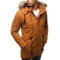Pánská zimní bunda s kapucí Z-6682 / 6681 (tx1990) - ROSSO (802329) - 2
