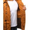 Pánská zimní bunda s kapucí Z-6682 / 6681 (tx1990) - ROSSO (802329) - 3