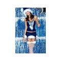 Vánoční kostým Snowflake corset - Obsessive (5777) - 2
