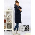 Dámský prošívaný zimní kabát s kapucí (ty0088) - YIXIANGSHUNV (516743) - 3