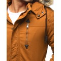Pánská zimní bunda s kapucí Z-6682 / 6681 (tx1990) - ROSSO (802329) - 6