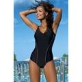 Jednodílné sportovní plavky Julie černé (200840) - 6