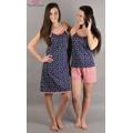 Dámské pyžamo šortky na ramínka Marina (276550) - 3