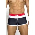 Pánské plavky boxerky Albert černé (43439) - 1