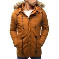 Pánská zimní bunda s kapucí Z-6682 / 6681 (tx1990) - ROSSO (802329) - 1