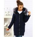 Dámský prošívaný zimní kabát s kapucí (ty0088) - YIXIANGSHUNV (516743) - 2