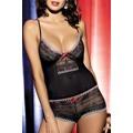 Souprava Showgirl top + shorts (25741) - 2
