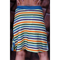 Retro barevně vzorovaná sukně (25732) - 2