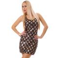 Flitrové párty šaty (66047) - 1