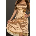 Saténové letní šaty (26341) - 4