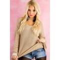 Dámský svetr pletený (26203) - 1
