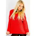 Dámský pletený svetr (26046) - 1