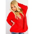 Dámský pletený svetr (26046) - 2