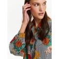 Top Secret Košile dámská s barevnými květy a dlouhým rukávem (508250) - 6