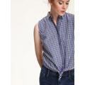 Top Secret Košile dámská kostičkovaná bez rukávu (436059) - 2