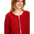 Top Secret Kabát dámský rudě červený bez zapínání (399606) - 4