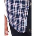 Top Secret Košile pánská kostkovaná s dlouhým rukávem (490762) - 6