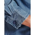 Top Secret Košile pánská jeans s dlouhým rukávem (490754) - 4